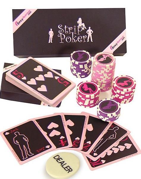 strip poker amour