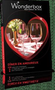wonderbox diner en amoureux