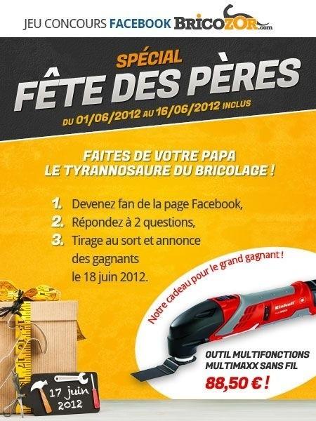 concours facebook Bricozor