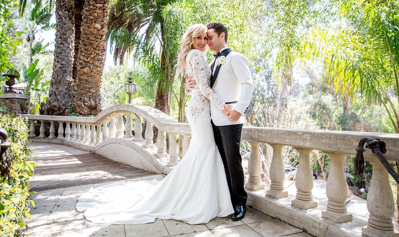 Photo d'un couple marié